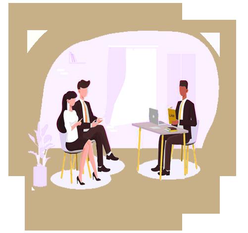 ملاقات حضوری و مشاوره |دفتر حقوقی حق گرا